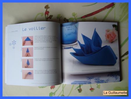 Pliage De Serviettes Le Livre La Guillaumette